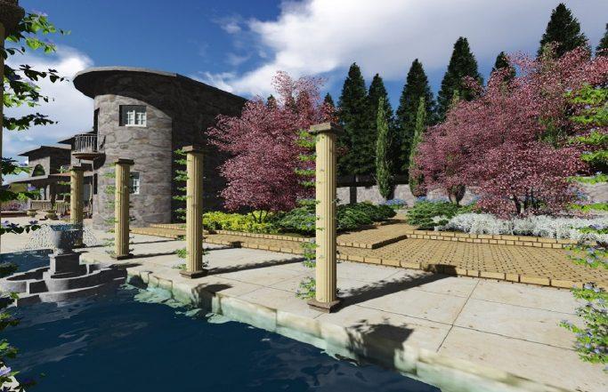 Jardim para moradia no Marco de Canaveses