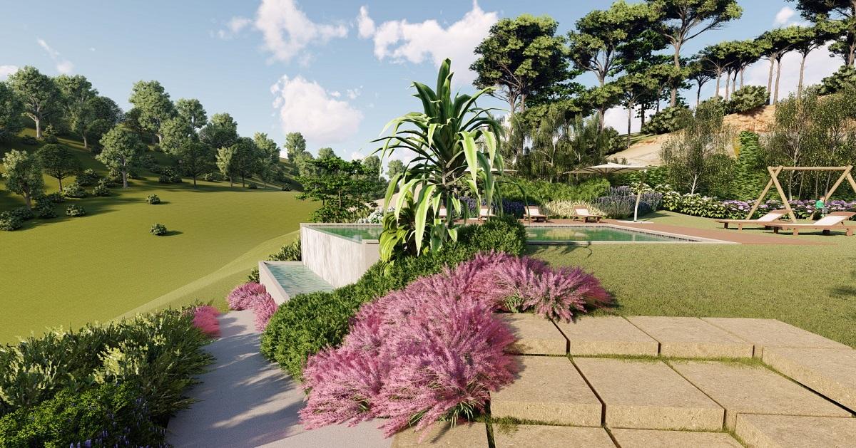 Projecto 3D3 - Arquitetura paisagista