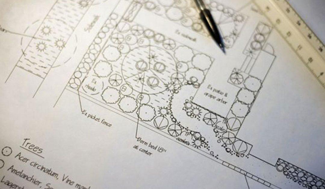 Projecto de execução de arquitectura paisagista